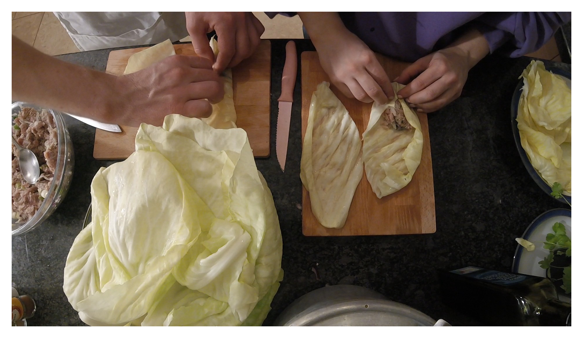 Episode 2 - Lahanontolmades (Stuffed Cabbage Rolls)